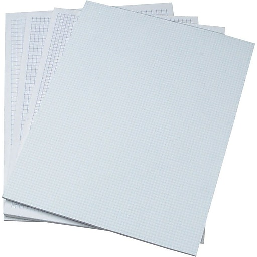 Ampad Evidence® 5 x 5 Quadrille Ruled Pad Graph Paper