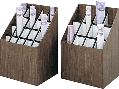 Safco Upright Roll File, 12-Roll Capacity (3079)