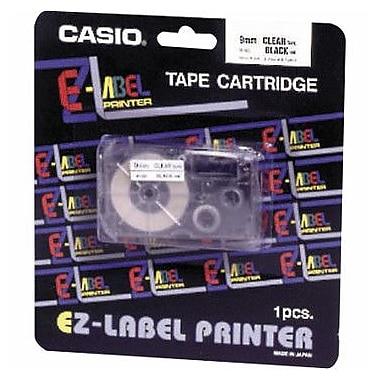 Casio Labeler Tape, Black on White, 24mm