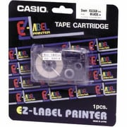 Casio Labeler Tape, XR24WES, Black on White, 24mm x 26'
