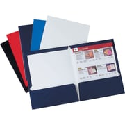 Staples® 2-Pocket Laminated Folders