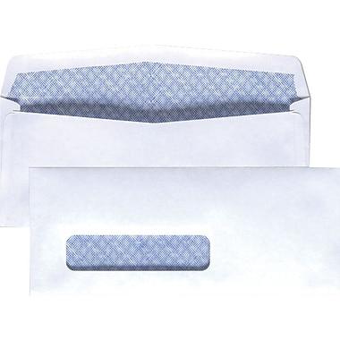 Staples Left Window Security-Tint Gummed Check-Size #8-5/8 Envelopes, 500/Box