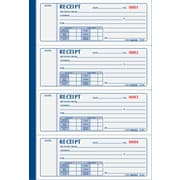 "Rediform® Receipt Books, 7"" x 2-3/4"", Soft Cover, 3 Part"
