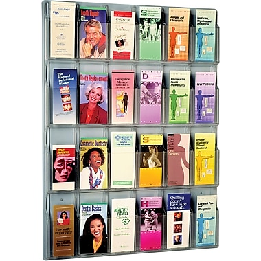 Safco® Reveal™ Displays, 24 Pamphlet