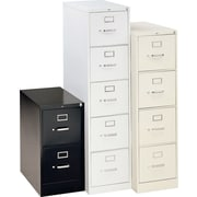 "HON® 310 Series 26 1/2"" Deep Commercial Vertical File Cabinets, Legal Size"