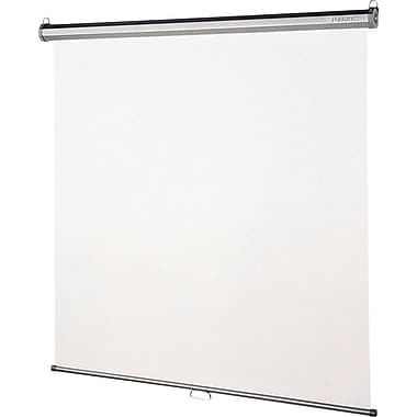 Quartet Mounted Pull Down Projector Screens