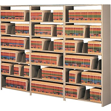Tennsco Snap-Together Open Shelving Units