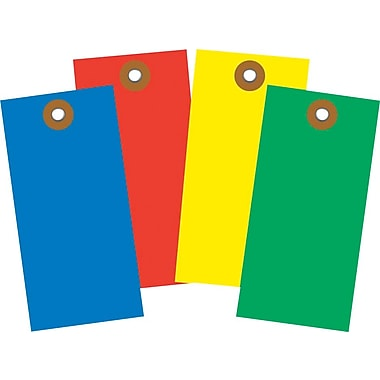 Staples® Colored Shipping Tags