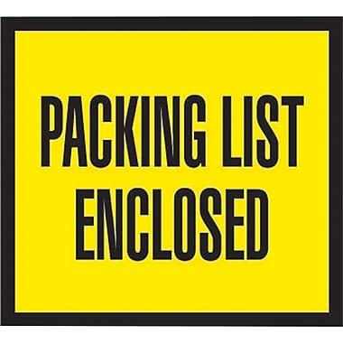 Staples® Packing List Envelopes, 4-1/2