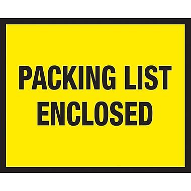 Packing List Envelopes, 7