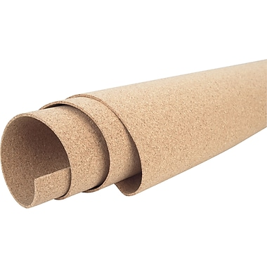 Staples® Natural Rolled Cork, 48