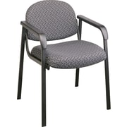 Office Star™ Guest Chair with Steel Frame, Onyx