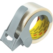 """Scotch Extreme Shipping Strapping Tape with Dispenser, 1.96"""" x 21.8 yds, Clear, 1/Pack"""