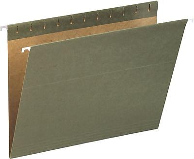 Pendaflex® Hanging Folders, Standard Green, Letter, 25/Box (81601)