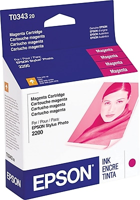 Epson 34 Magenta Ink Cartridge (T034320)