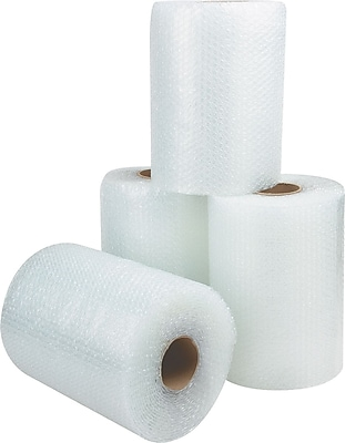 Non-Perforated Bubble Rolls, 1/2