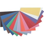 """Pacon Riverside Construction Paper 18"""" x 12"""", Assorted, 50 Sheets (103638)"""