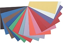 Pacon Riverside Construction Paper 18' x 12', Assorted (103638)