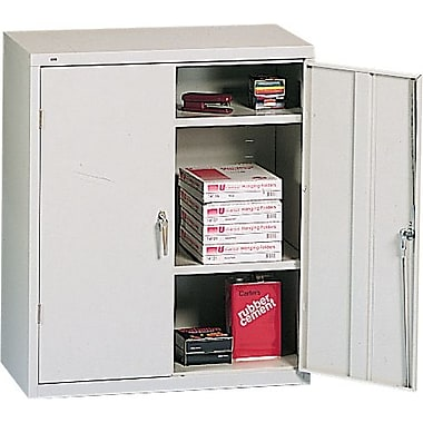 HON® Brigade® 3-Shelf Assembled Storage Cabinets, 18