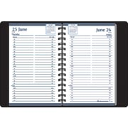 """House of Doolittle One-Weekday-Per-Page Recycled Appointment Book, Jan.-Dec., Black, 5"""" x 8"""""""