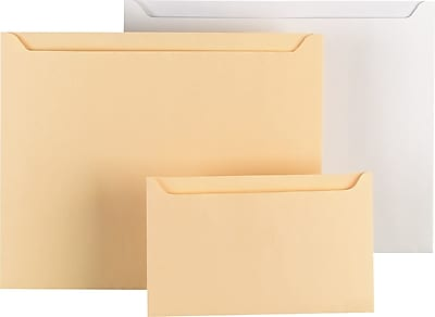 Quality Park Paper File Jackets, Buff, 5