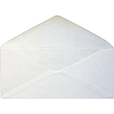 Staples® #10 Envelopes, Gummed Closure, White