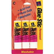 Avery Clear Glue Stics, 3/Pack, .26 oz.