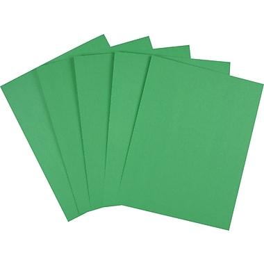 Staples Brights 24 Lb Colored Paper Dark Green 500 Ream