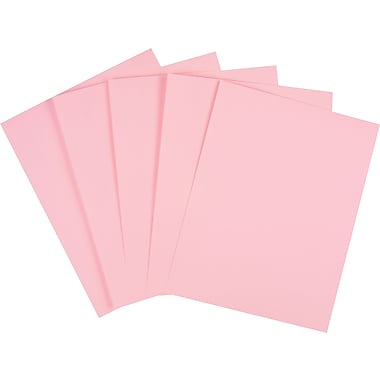 Staples Pastel Colored Copy Paper 8 1 2 X 11 Pink 500 Ream 14779