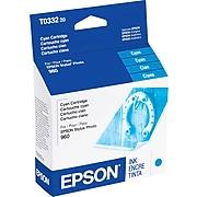 Epson T033 Cyan Standard Yield Ink Cartridge