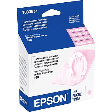 Epson 33 Light Magenta Ink Cartridge (T033620)