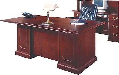 DMI Andover 72 Executive Desk Mahogany Staples