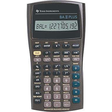 texas instruments ba ii plus financial calculator staples