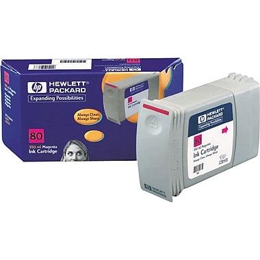 HP 80 Magenta Ink Cartridge (C4847A), 350ml