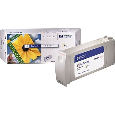 HP 83 Light Magenta UV Ink Cartridge (C4945A)