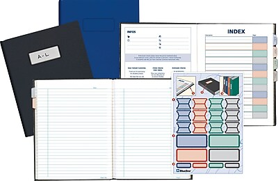 Blueline® Business Composition Notebook, 9-1/4