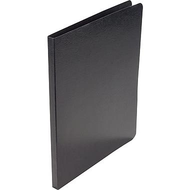 Acco Presstex® Grip Punchless Binders, Black