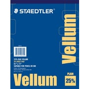 "Staedtler® 25% Vellum Tracing Paper, 8 1/2"" x 11"""