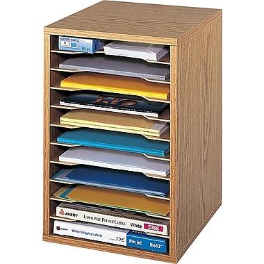 Safco® Vertical Desktop Sorter, 16