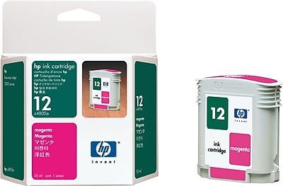 HP 12 Magenta Ink Cartridge (C4805A)
