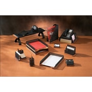 Rolodex®  Distinctions™ Punched Black Metal and Cherry Wood Desk Collection