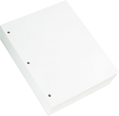 Staples 50% Recycled Multipurpose Paper; 8 1/2