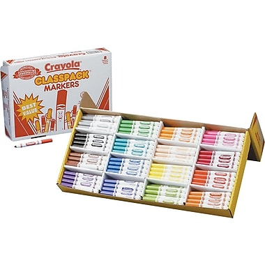 Crayola® Classpack® Classic Markers, 256/Pack