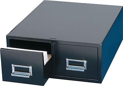 Steelmaster 2-Drawer Card Cabinet, 6