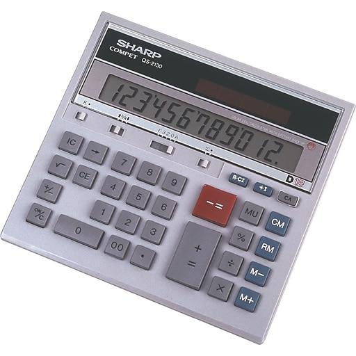 Sharp Financial Calculator (QS-2130) | Staples