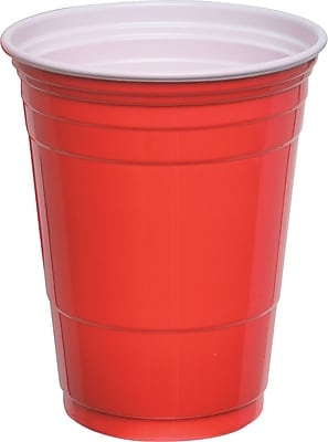 Solo® Party Cups 16 oz., Red, 50/Pack (P16R)