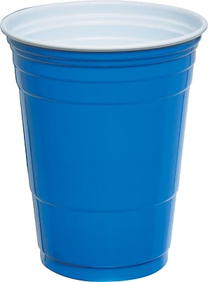 Solo® Party Cups 16 oz., Blue, 50/Pack (P16B)