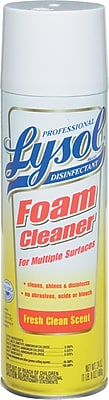 Professional LYSOL® Brand Disinfectant Foam Cleaner, 24 oz.