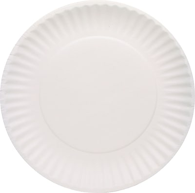 //.staples-3p.com/s7/is/  sc 1 st  Staples & AJM Packaging Corporation® PP6GREWH Paper Plate 6\