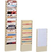 Durham Wide-Pocket Vertical Literature Racks